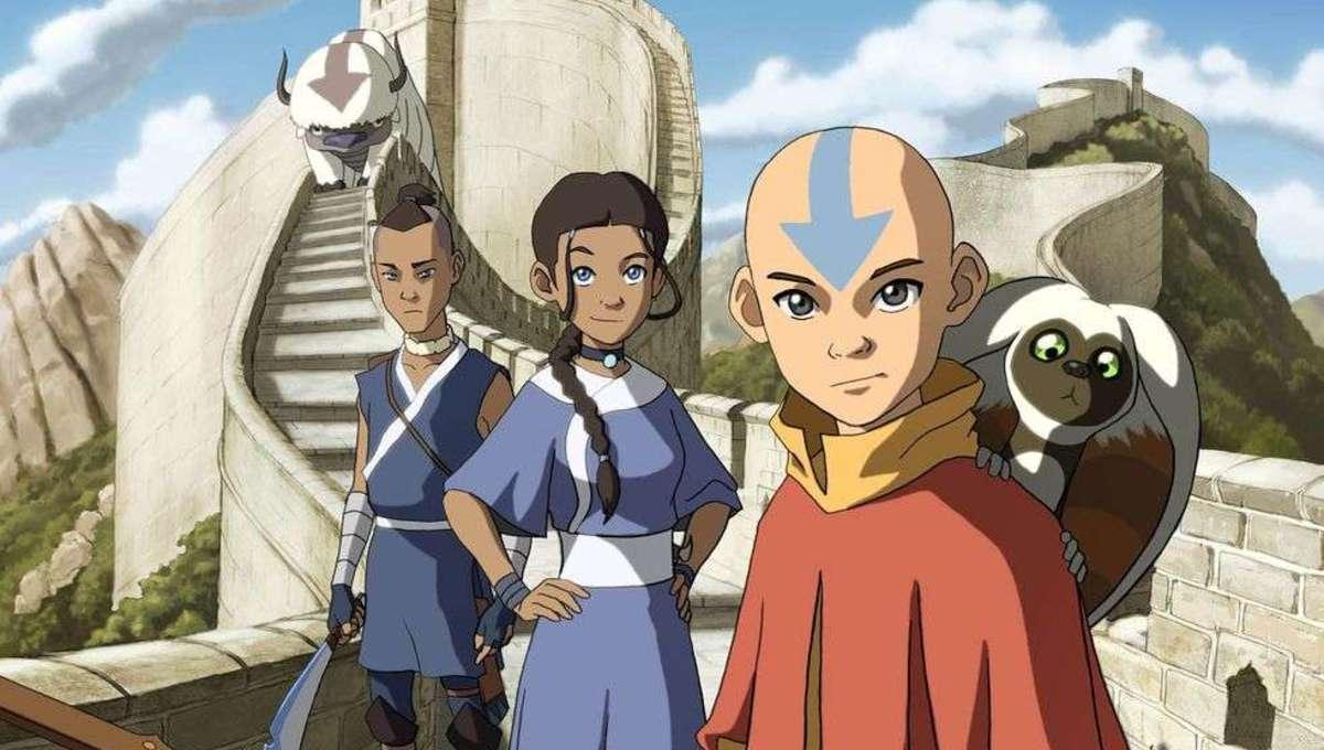 Avatar the Last Airbender Press Site Art