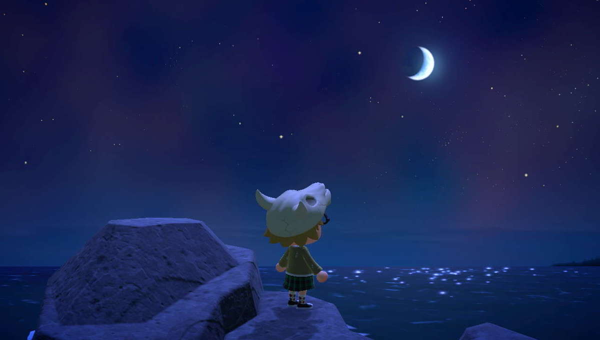 Animal Crossing Existential Moon