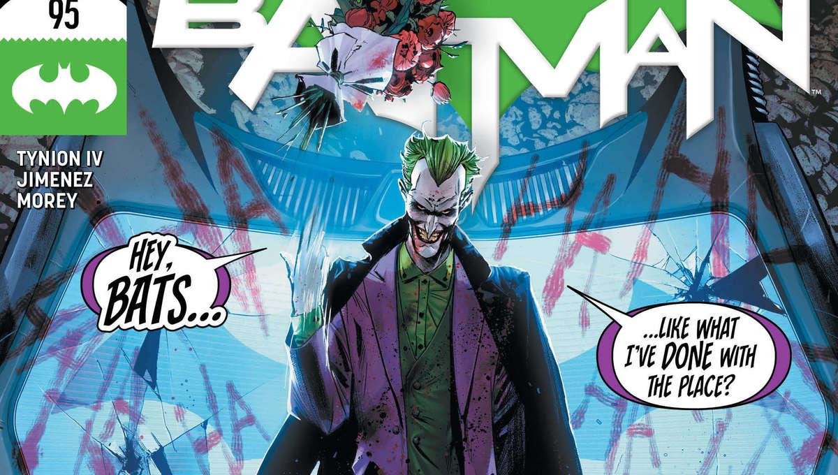 Batman 95 cover