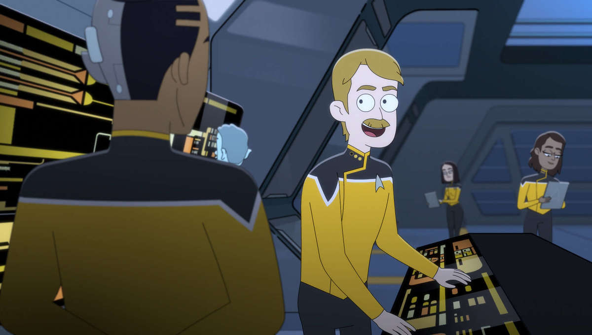 Prodigy First CG Trek Show — Nickelodeon's Star Trek