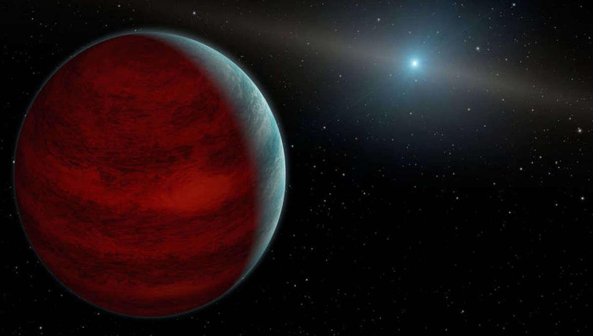 NASA image of a gas giant