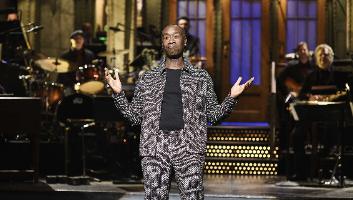 Don Cheadle on Saturday Night Live