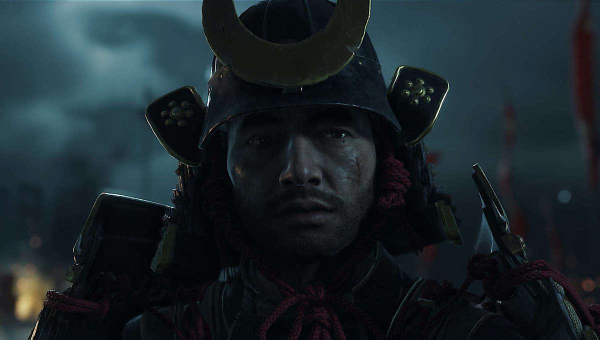 Jin Sakai in Ghost of Tsushima