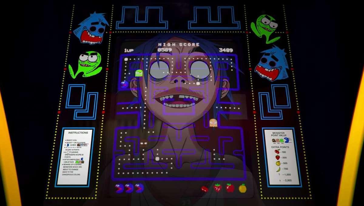 Gorillaz Pac-Man