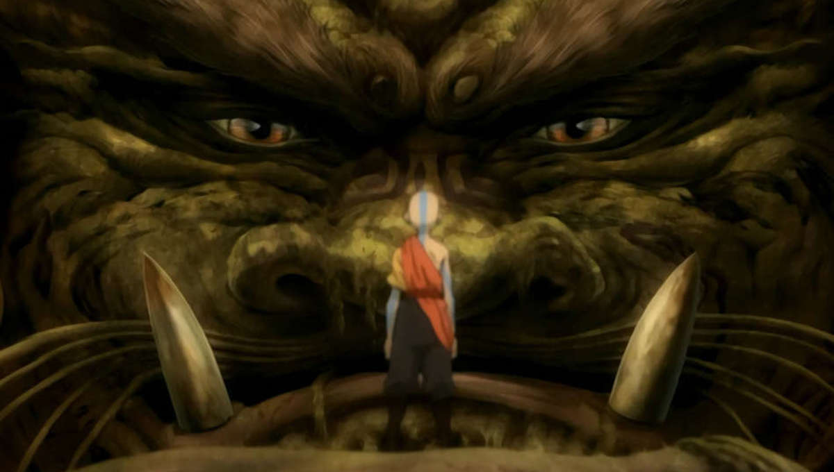 Lion Turtle in Avatar the Last Airbender