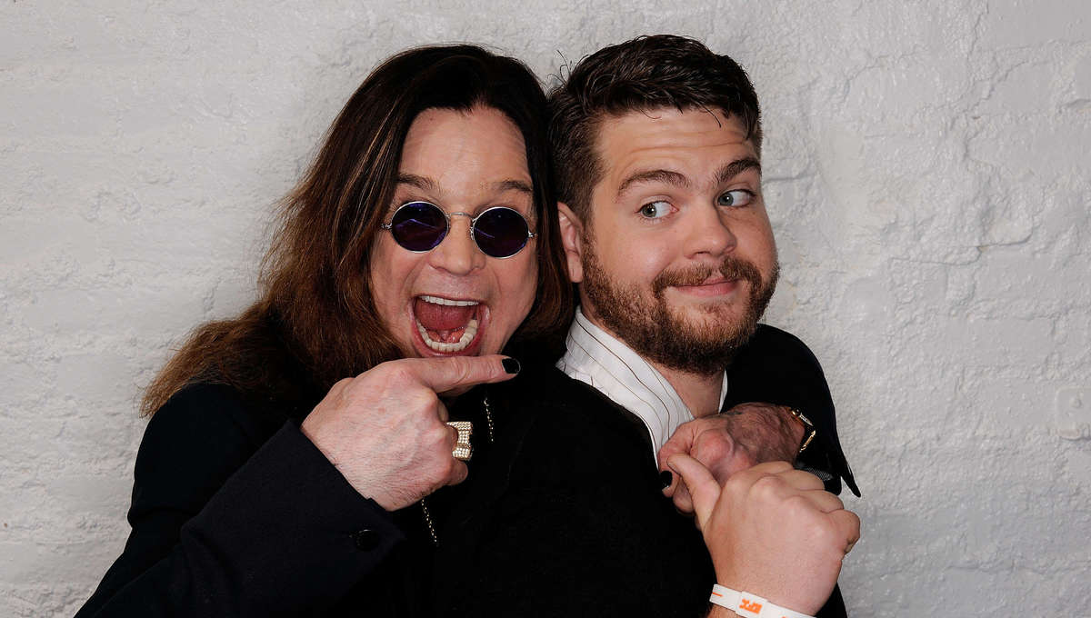 Ozzy and Jack Osbourne