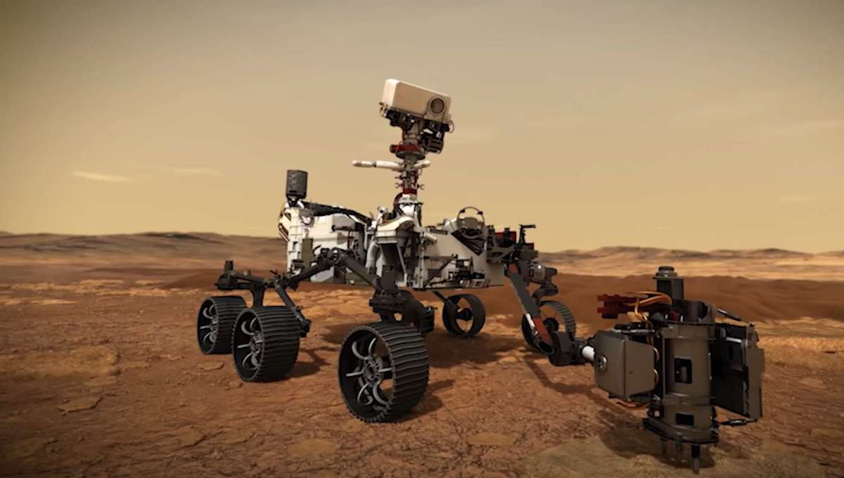 NASA Launches Rover to Search for Ancient Life on Mars