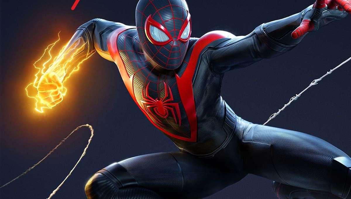 Spider Man Miles Morales PS5 game art