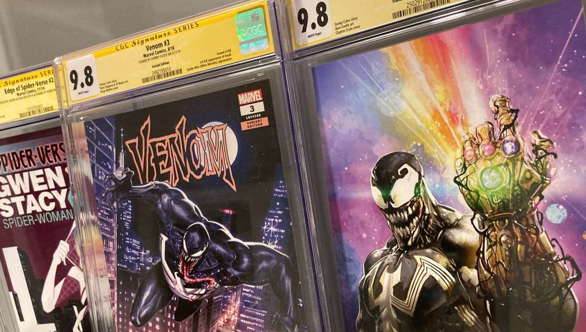 Venom, Miles Morales, Knull and Spider-Gwen are extremely hot right now in the comic book market.