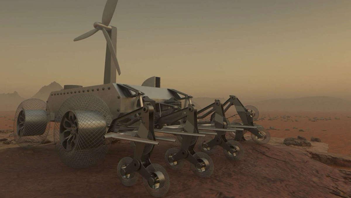 NASA Venus rover concept