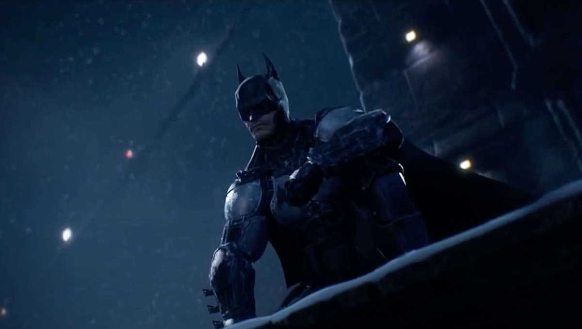 Batman in Batman Arkham Origins game