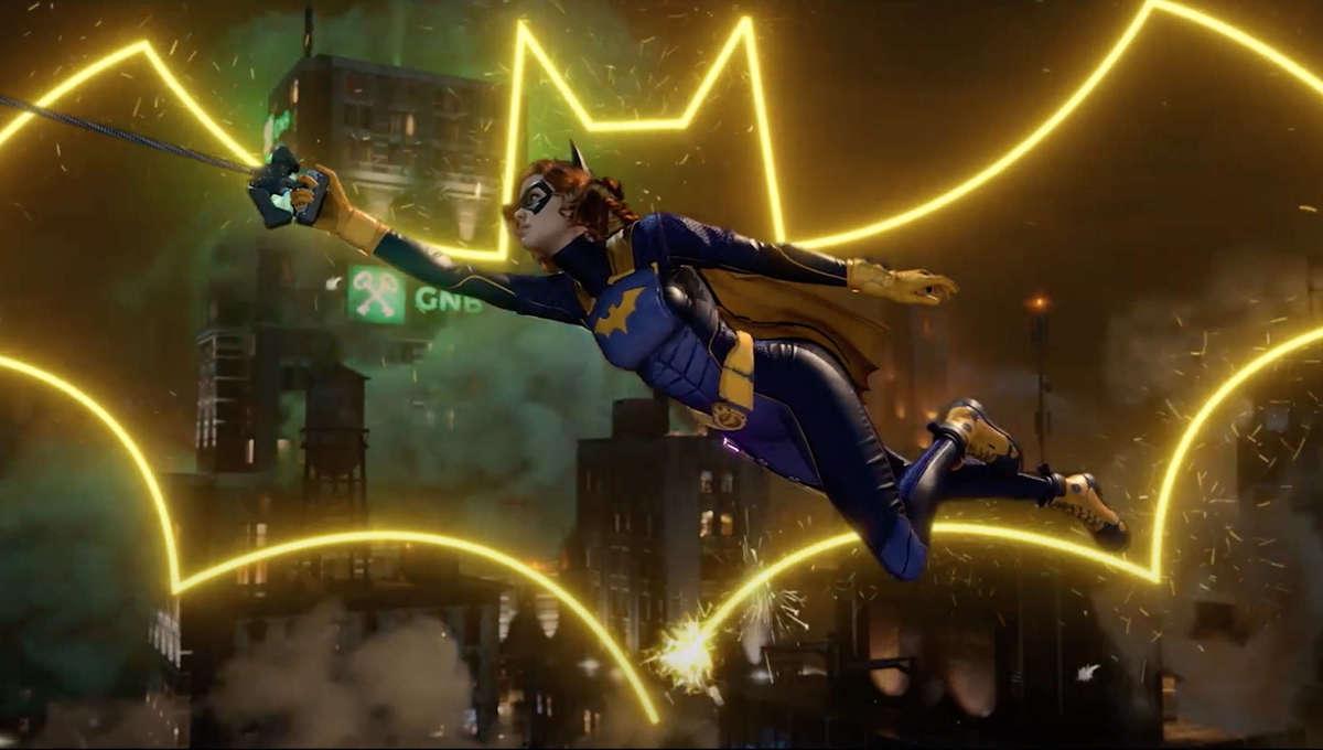 Batgirl in Batman Gotham Knights game