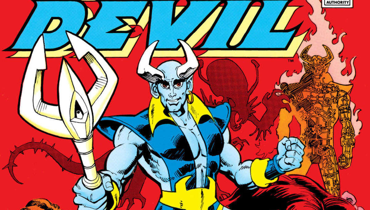 Halloween 2020 Self Aware Characters Blue Devil deserves the spotlight in an age of self aware superheroes