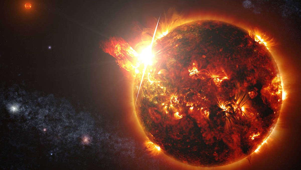 NASA image of coronal mass ejection