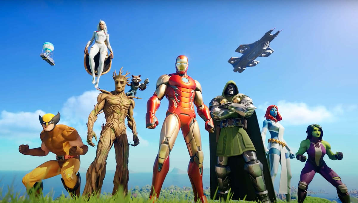 Marvel Nexus War characters assemble in Fortnite Chapter 2 Season 4