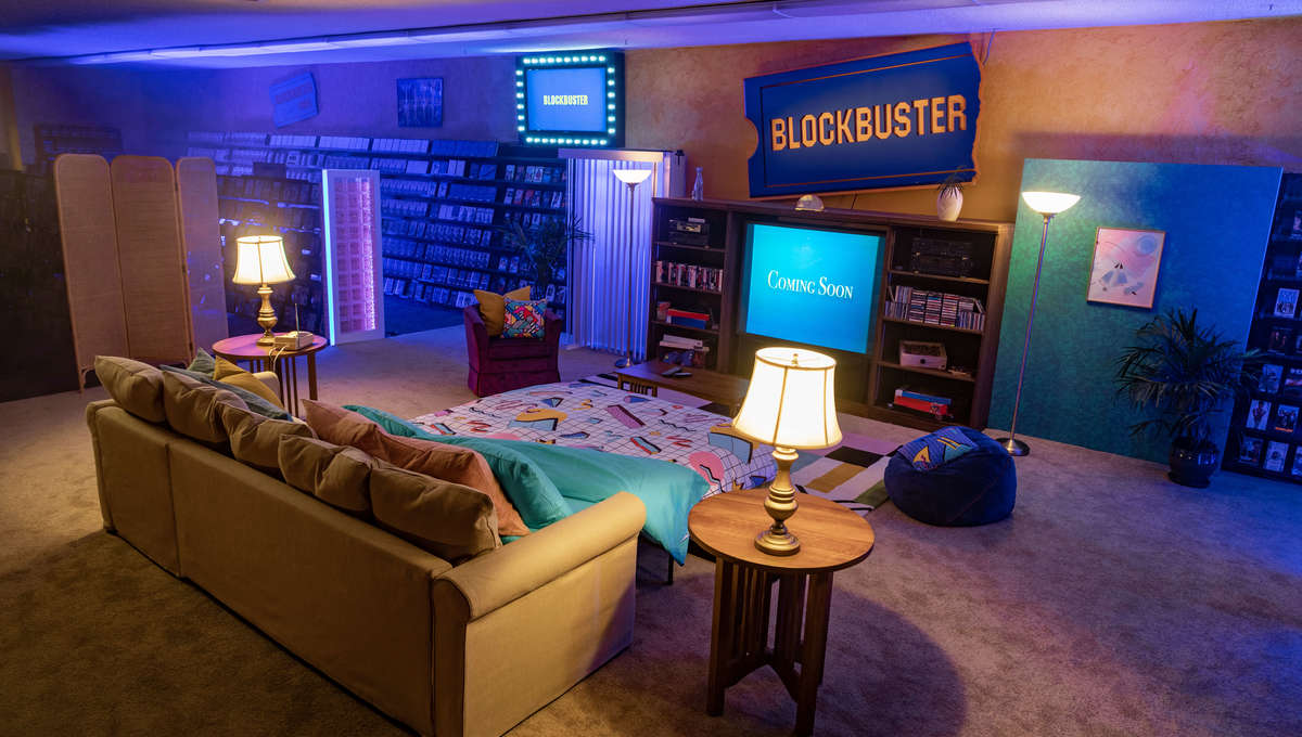 Hottest New AirBnB Property: The Last Remaining Blockbuster in the Universe
