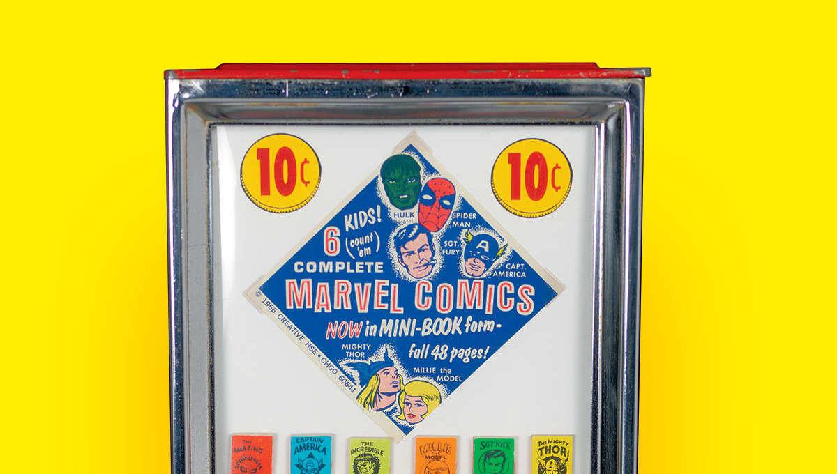 Marvel Mini-Books