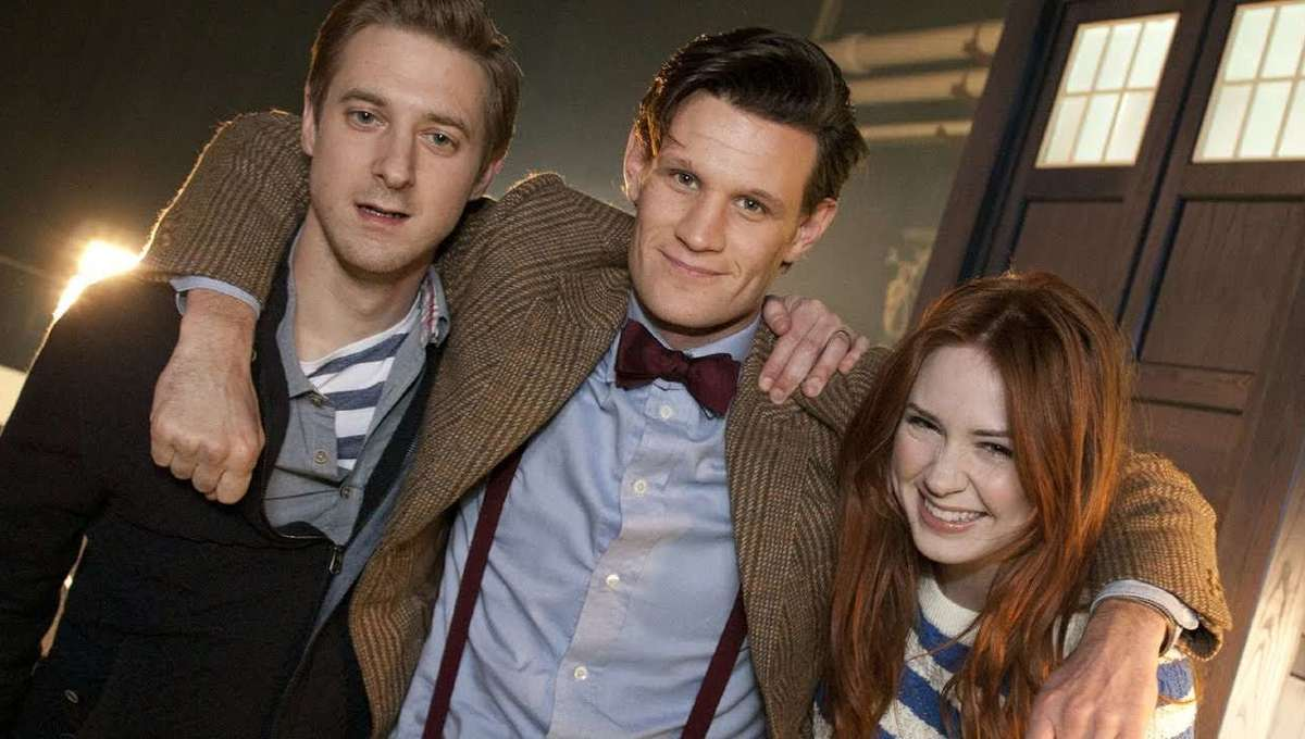 Eleventh Doctor, Amy and Rory Pond Promo Photo