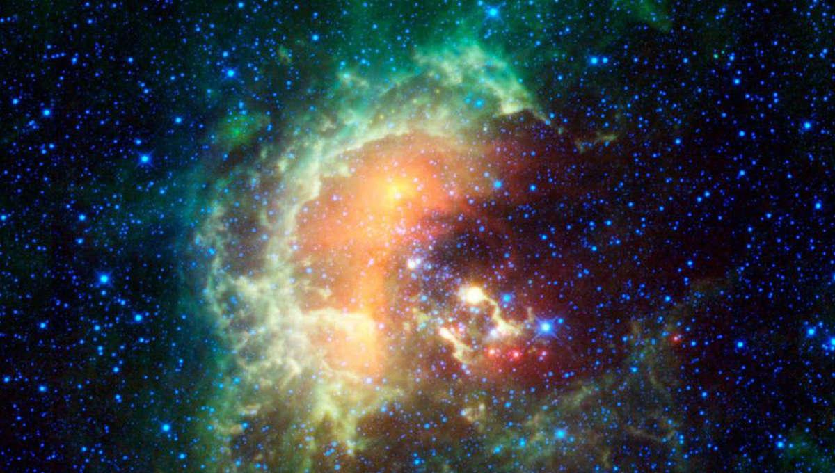 NASA image of nebula