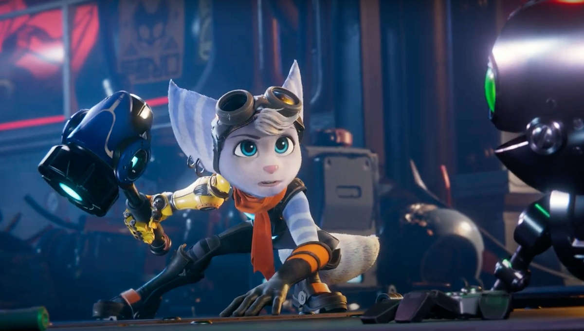 The new female Lombax in Ratchet and Clank Rift Apart for PS5