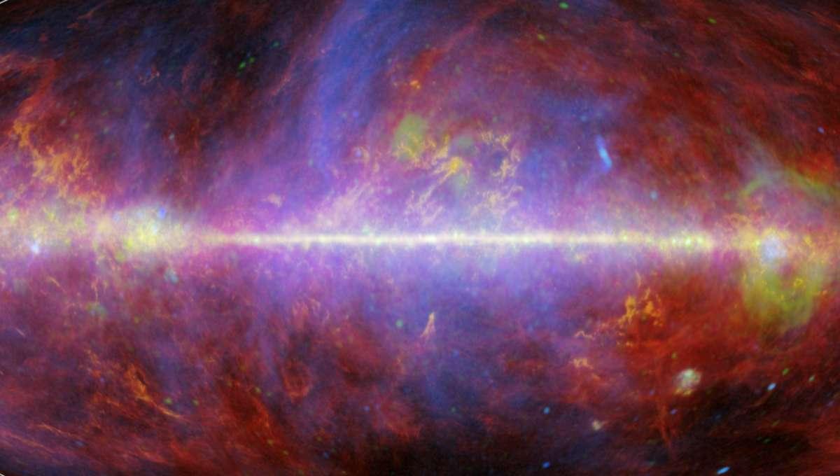 NASA image of the Milky Way