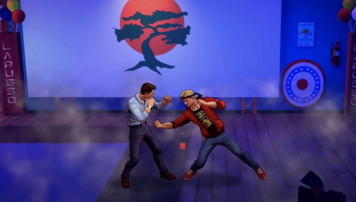 Screenshot from Cobrai Kai: The Karate Kid Saga Continues game trailer