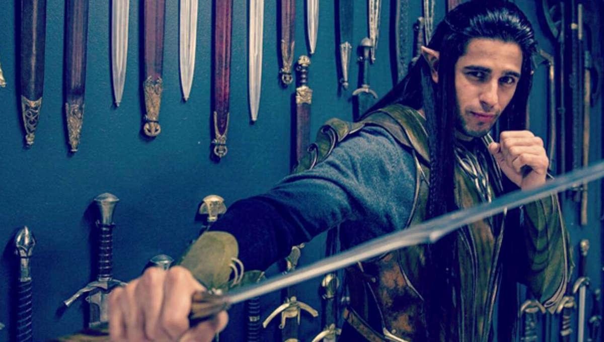 Sidharth Malhotra LOTR hero