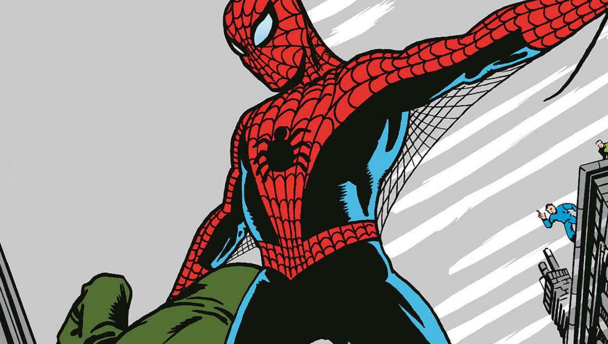 Spider Man comic banner