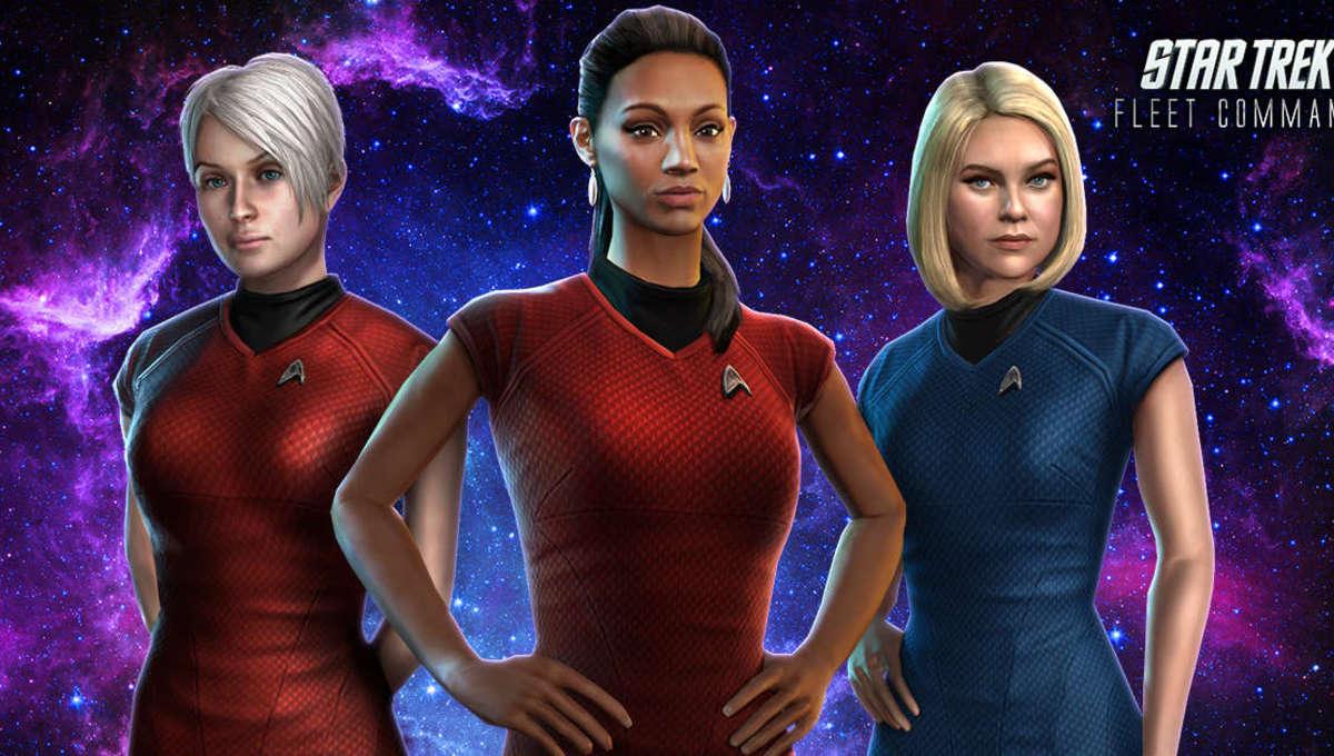 Star Trek Fleet Command Characters
