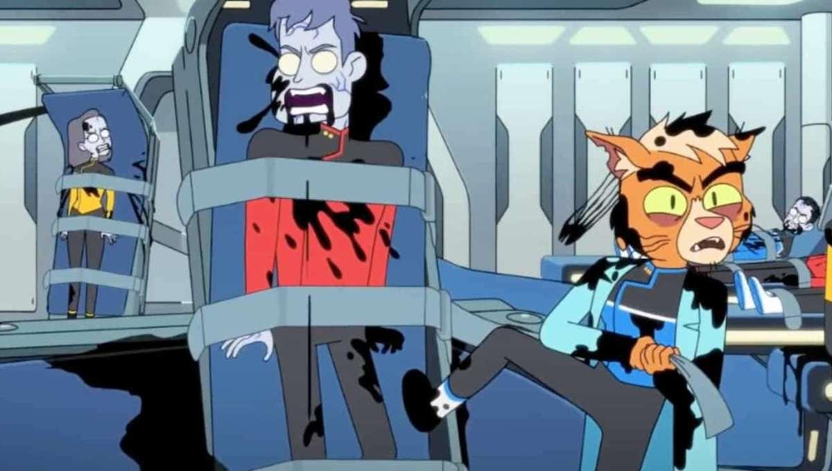 Star Trek Lower Decks Virus Outbreak