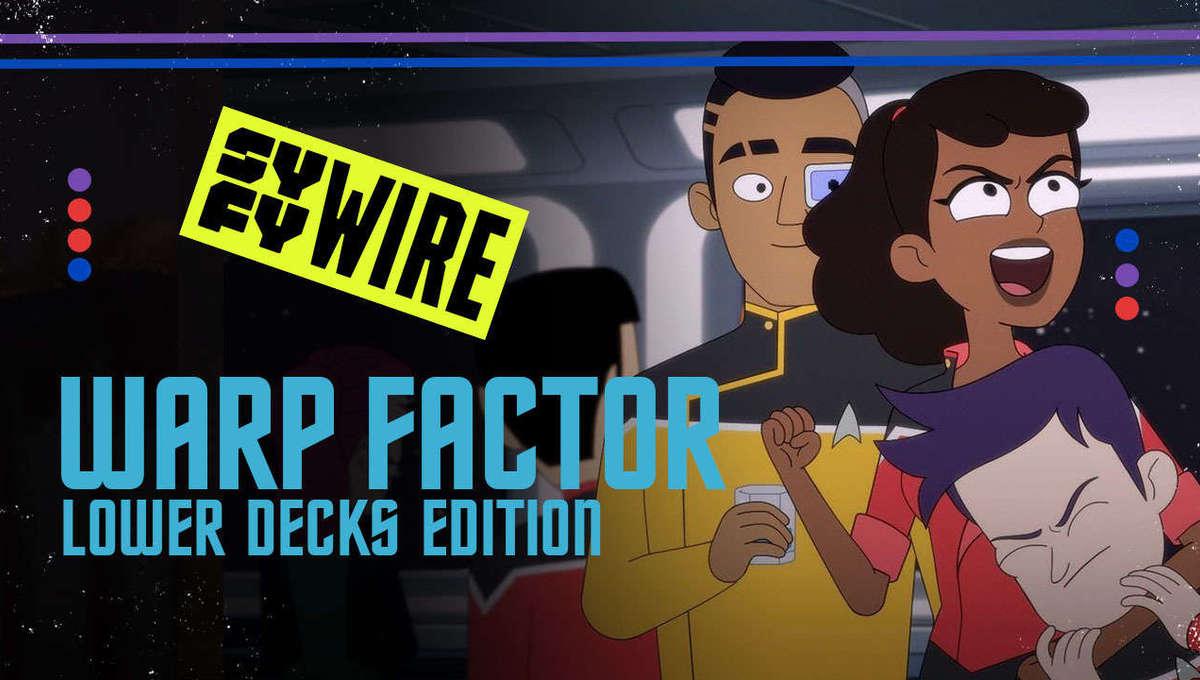 Warp Factor- Lower Decks Premiere