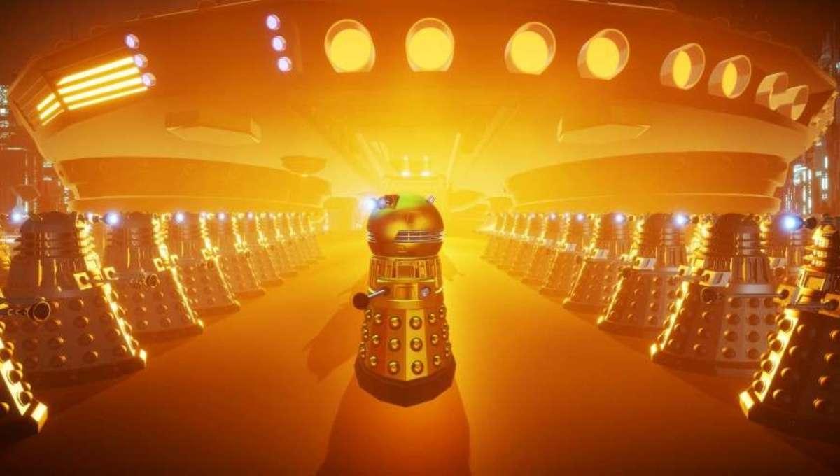 Still of Dalek from BBC's Daleks!