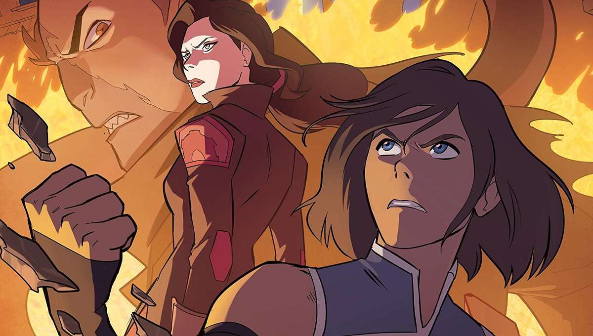 Legend of Korra Turf Wars Part Two Comic Cover