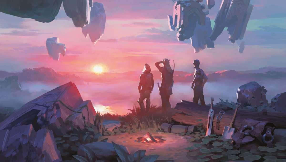 Magic: the Gathering Base Camp art