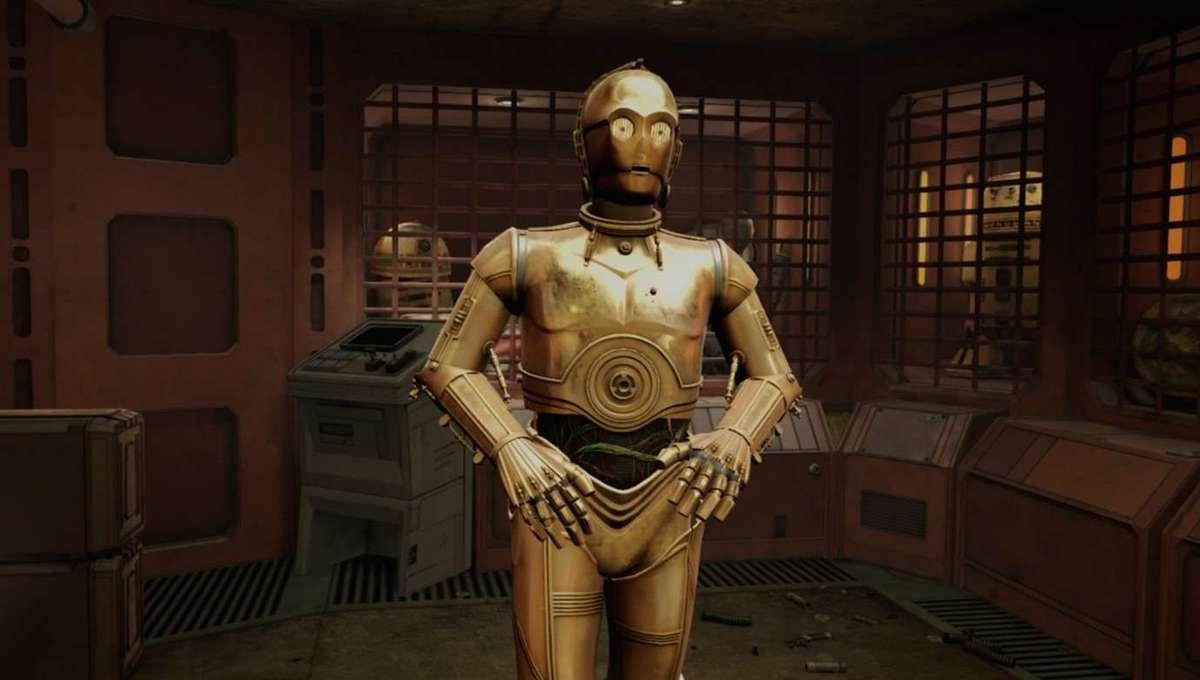 C-3PO Trailer Still Star Wars: Tales from the Galaxy's Edge