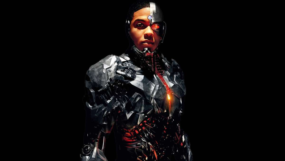 Ray Fisher Cyborg Justice League Promo Still