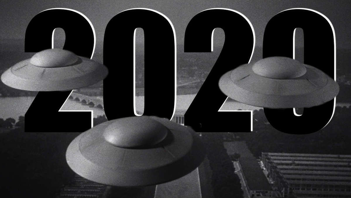 2020 Earth Versus the Flying Saucer