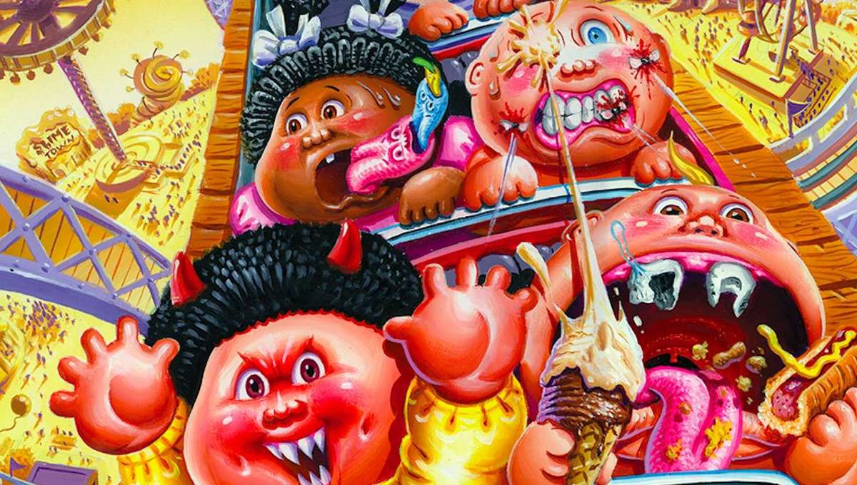Garbage Pail Kids Welcome to Smellville #2
