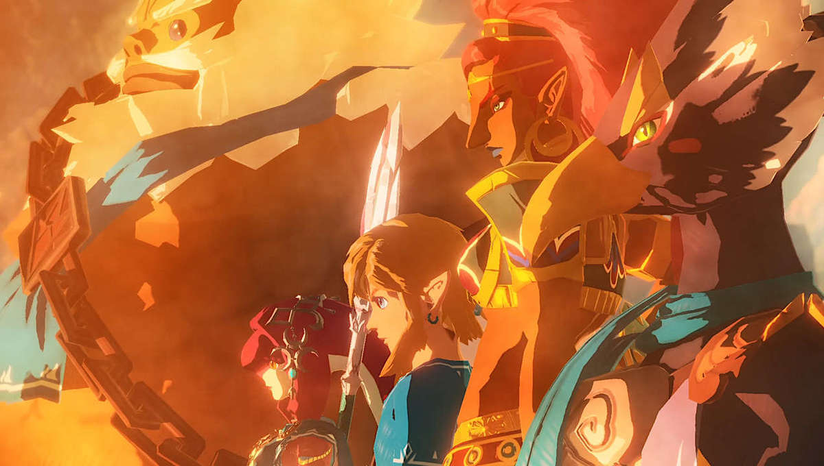 Nintendo art for Hyrule Warriors Age of Calamity
