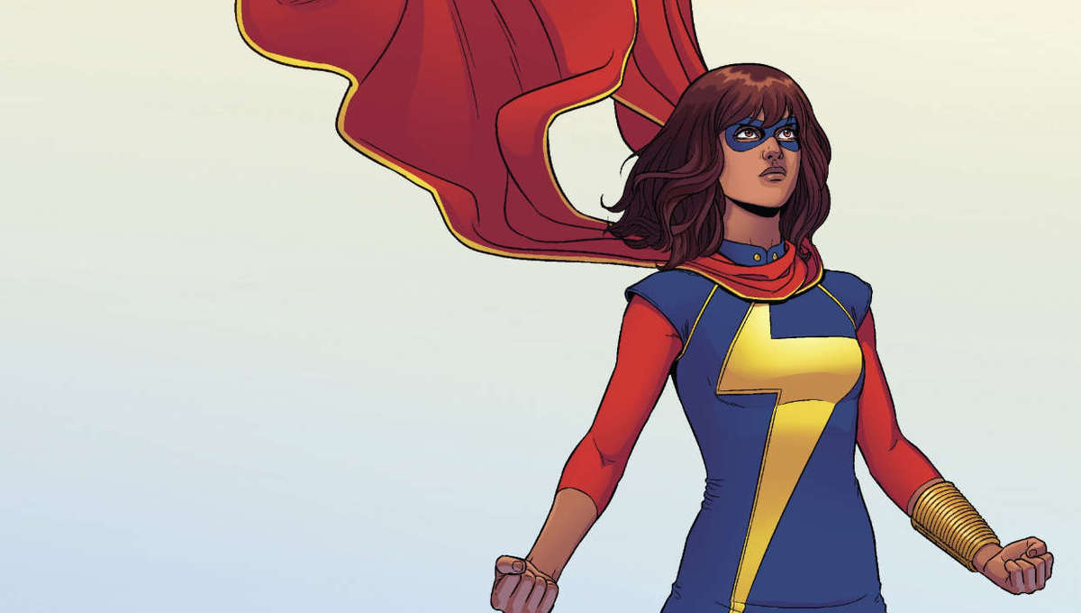Screenshot of cover of Ms. Marvel Issue 3