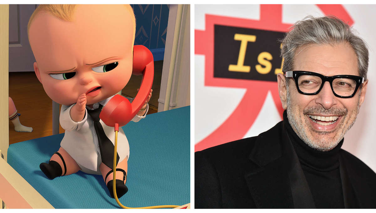 Jeff Goldblum Boss Baby