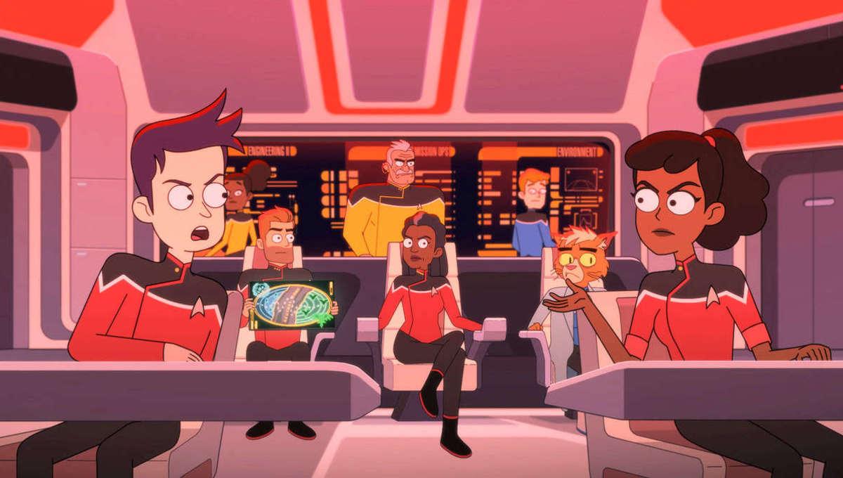 lower decks episode 8 star trek bridge
