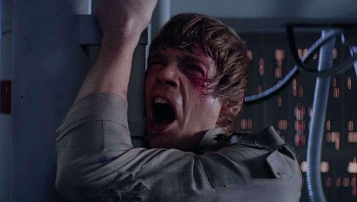 Luke Skywalker Screaming hero