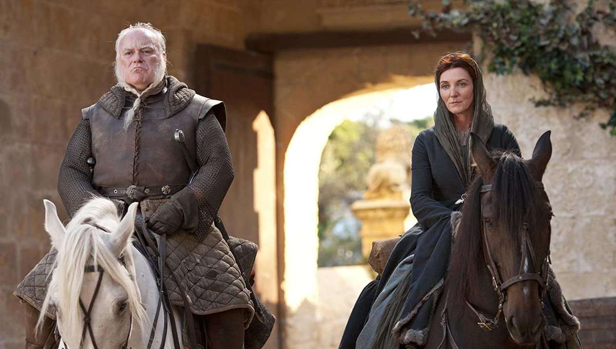 Michelle Fairley as Catelyn Stark Game of Thrones