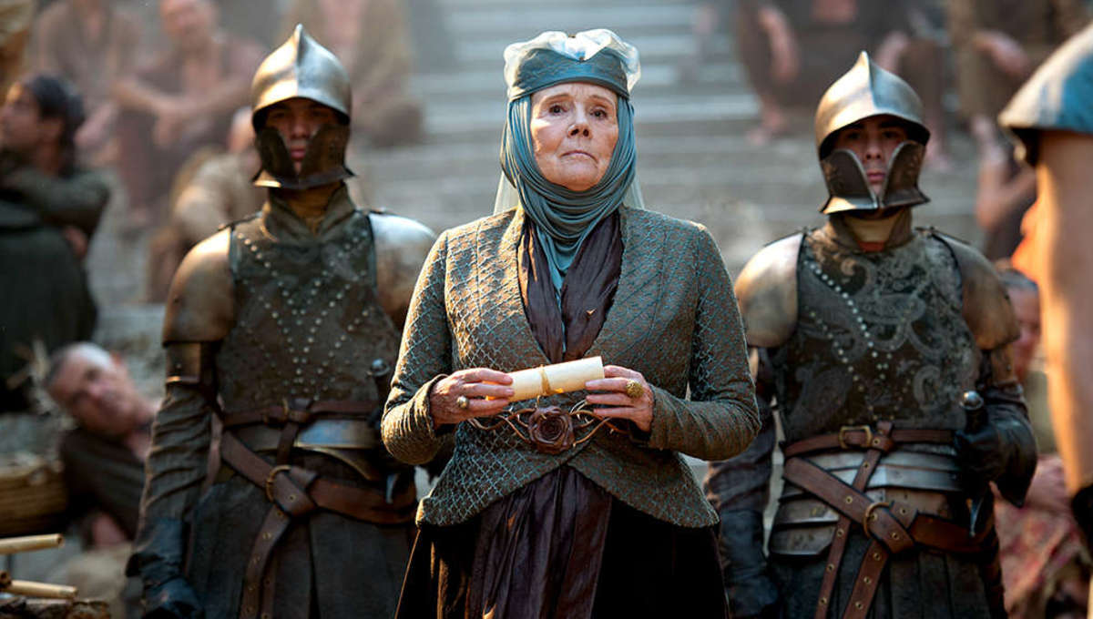 Diana Rigg Star of Game Of Thrones Has Died Aged 82