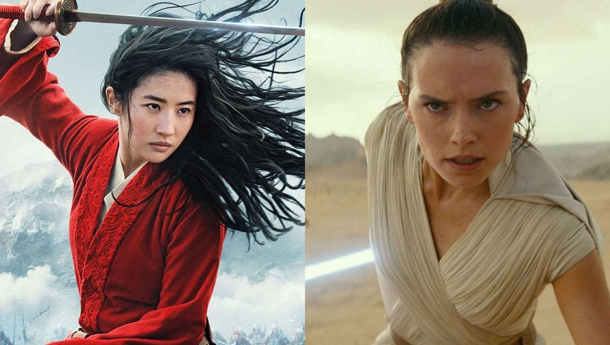 Mulan and Rey