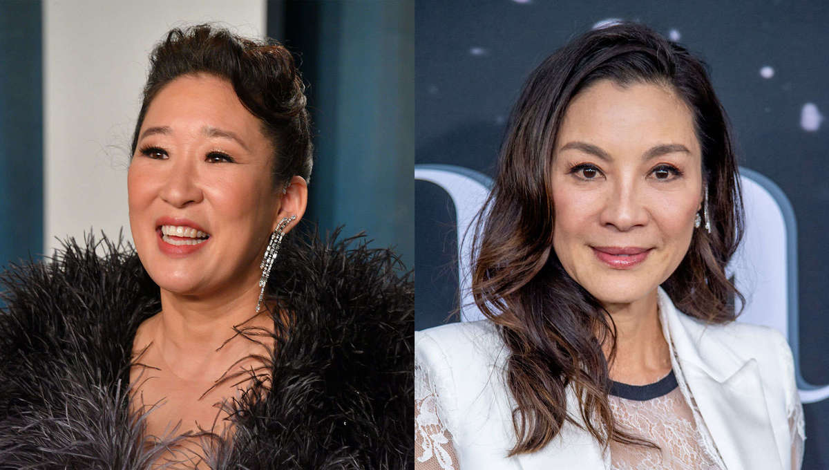 Sandra Oh and Michelle Yeoh