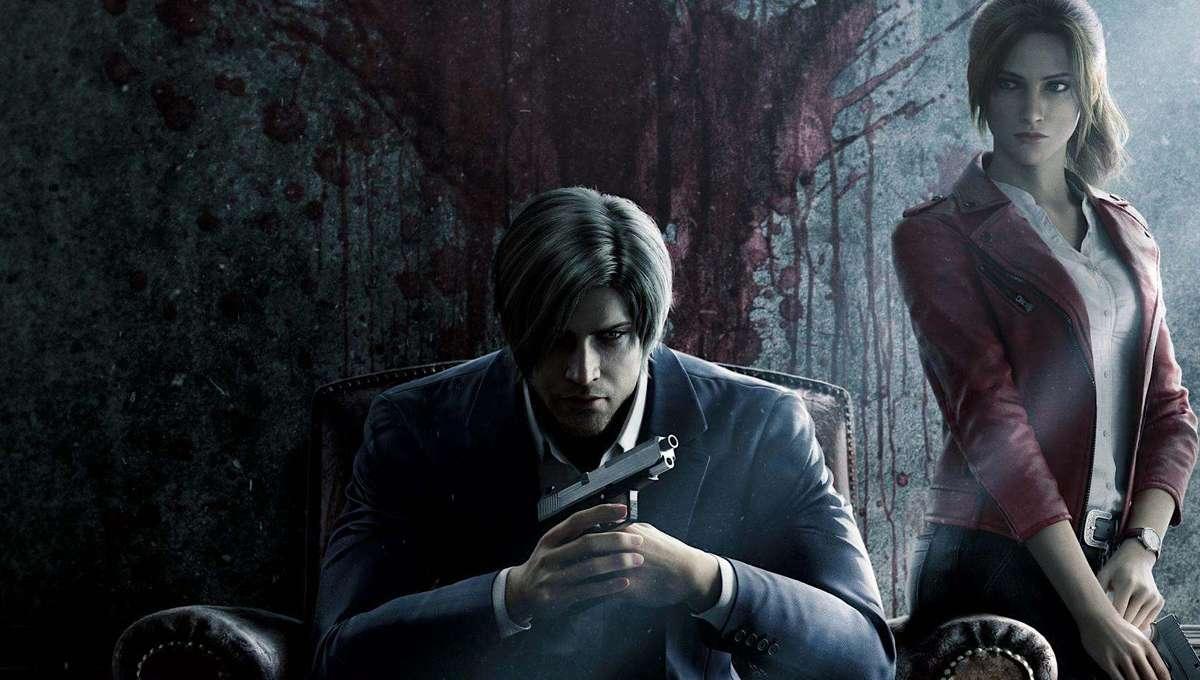 Resident Evil Infinite Darkness promotional art for Netflix series