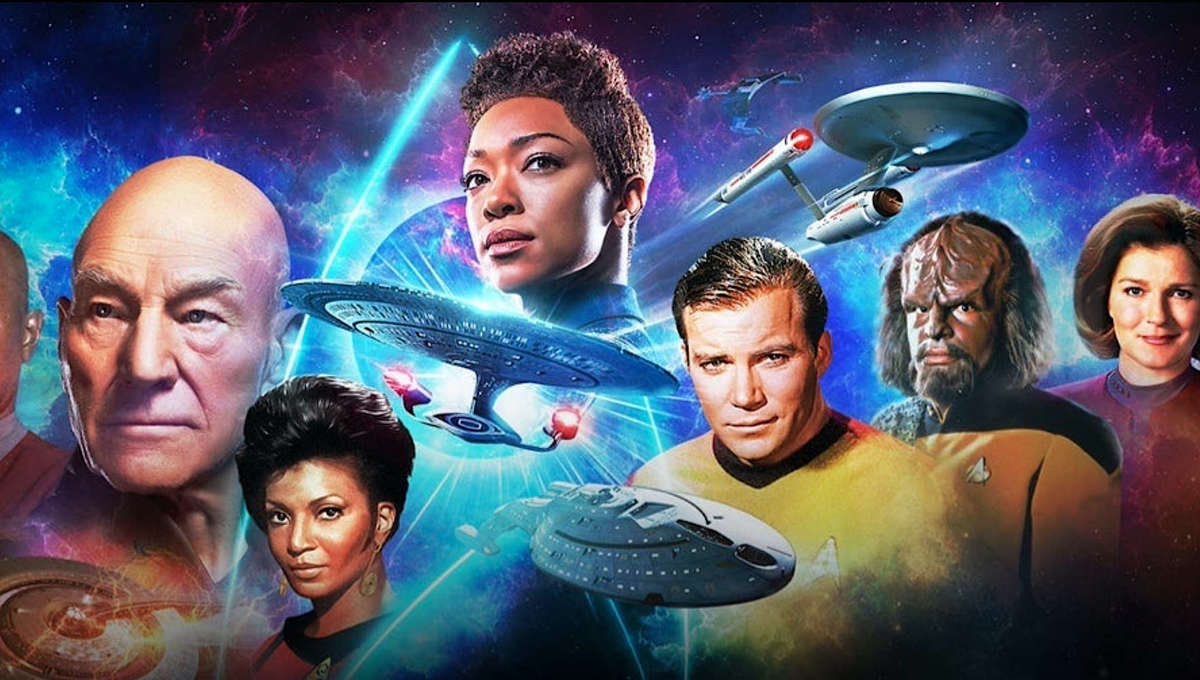 Cast banner for Star Trek Day Celebration 2020