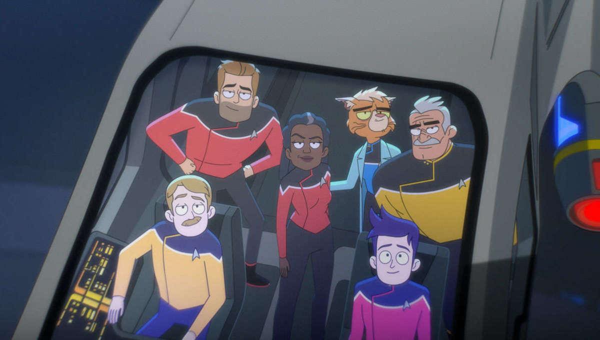 Star Trek lower decks crew 109 westlake